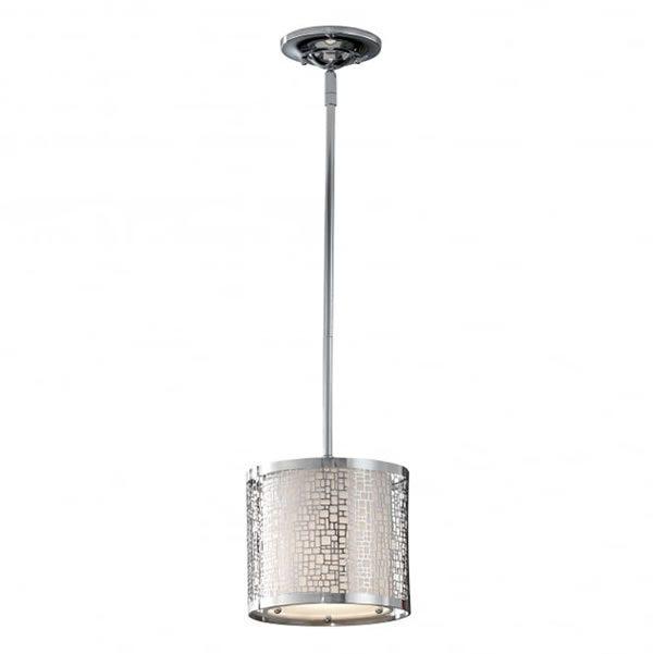 Fiess Joplin 1 Light Ceiling Pendant Polished Chrome for sale at Lichfield Lighting