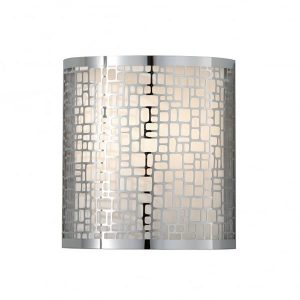 Fiess Joplin 1 Light Wall Light Polished Chrome for sale at Lichfield Lighting