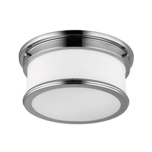 Elstead Feiss Bathroom Payne Flush Mount Ceiling Light for sale at Lichfield Lighting