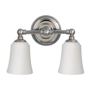 Elstead Feiss Huguenot Lake 2lt Above Mirror Bathroom Light for sale at Lichfield Lighting