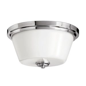 Elstead Hinkley Avon Flush Mount Bathroom Ceiling Light for sale at Lichfield Lighting