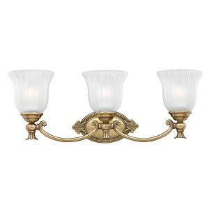 Elstead Hinkley Francoise 3lt Above Mirror Bathroom Light for sale at Lichfield Lighting