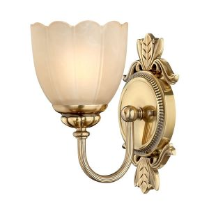 Elstead Hinkley Isabella 1lt Bathroom Wall Light for sale at Lichfield Lighting