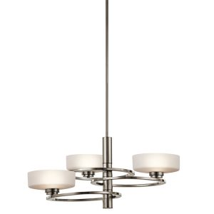 Elstead Aleeka 3lt Chandelier Classic Pewter for sale at Lichfield Lighting