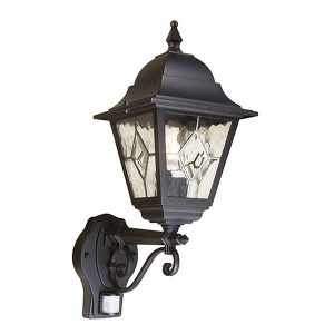 Elstead Norfolk Up Wall Lantern With PIR for sale at Lichfield Lighting