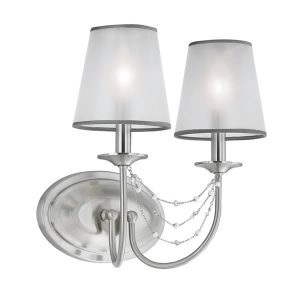 Feiss Aveline 2lt Wall Light for sale at Lichfield Lighting