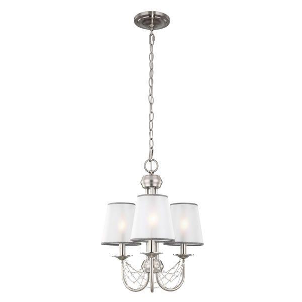 Feiss Aveline 3lt Chandelier Pendant Light for sale at Lichfield Lighting
