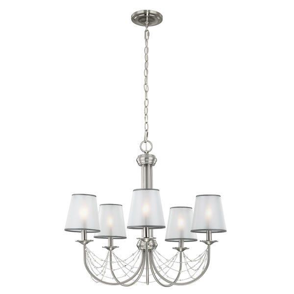 Feiss Aveline 5lt Chandelier Pendant Light for sale at Lichfield Lighting