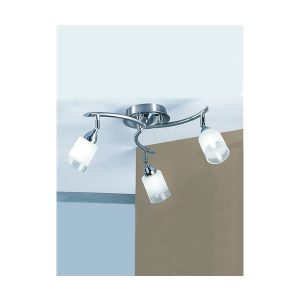 Franklite Campani 3lt Fitting Flush Ceiling Light for sale at Lichfield Lighting