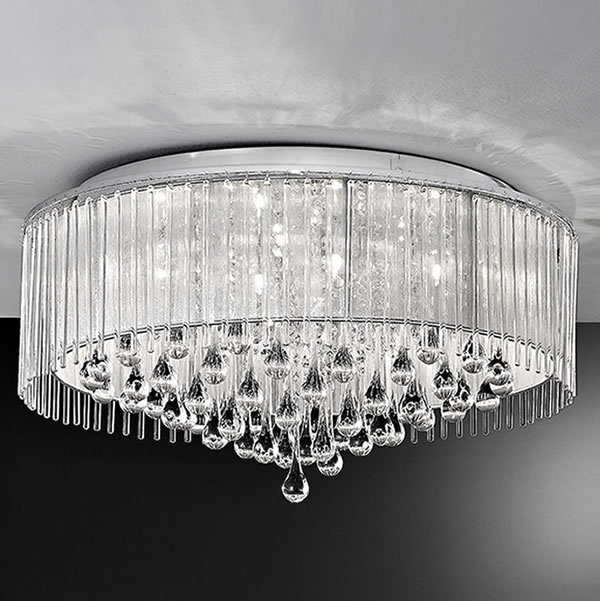 Franklite spirit 8lt flush ceiling light chrome lichfield lighting franklite spirit 8lt flush ceiling light chrome for sale at lichfield lighting aloadofball Gallery