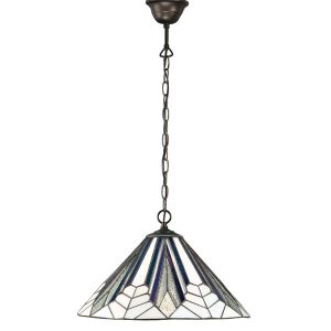 Tiffany Astoria medium 1lt pendant for sale at Lichfield Lighting