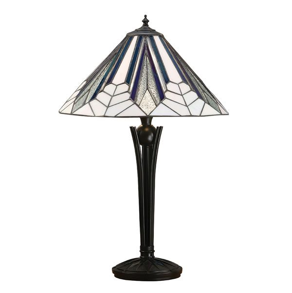 Tiffany Astoria medium table light for sale at Lichfield Lighting