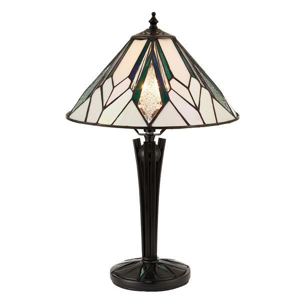 Tiffany Astoria small table light for sale at Lichfield Lighting
