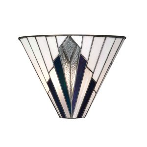 Tiffany Astoria wall light for sale at Lichfield Lighting