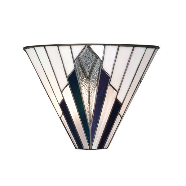 Tiffany Astoria wall light for sale at Lichfield Lighting