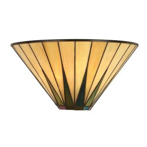 Tiffany Dark star wall light for sale at Lichfield Lighting