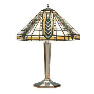 Tiffany Lloyd medium table light polished aluminium for sale at Lichfield Lighting
