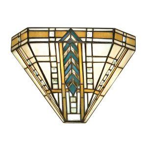 Tiffany Lloyd wall light for sale at Lichfield Lighting