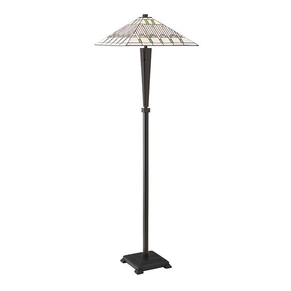 Tiffany Mission floor Lamp for sale at Lichfield Lighting