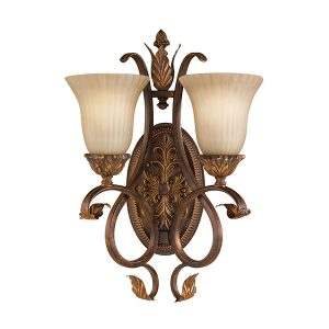 FEISS Sonoma Valley 2lt Wall Light for sale at Lichfield Lighting
