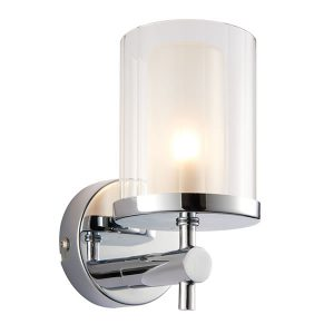 Endon Britton 1lt wall light bathroom light for sale at Lichfield Lighting