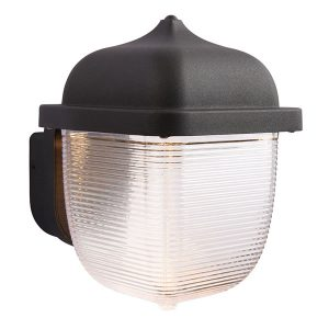 Endon Heath 1lt Black wall outside light for sale at Lichfield Lighting