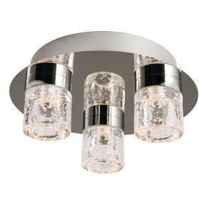 Endon Imperial 3lt flush bathroom light for sale at Lichfield Lighting