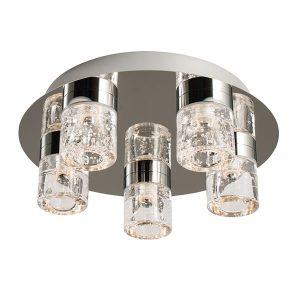 Endon Imperial 5lt flush bathroom light for sale at Lichfield Lighting