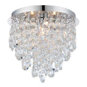 Endon Kristen 3lt flush bathroom light for sale at Lichfield Lighting