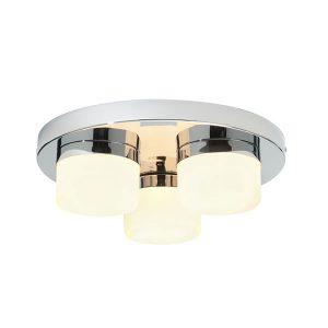 Endon Pure 3lt flush bathroom light for sale at Lichfield Lighting