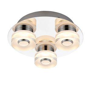 Endon Rita 3lt flush bathroom light for sale at Lichfield Lighting