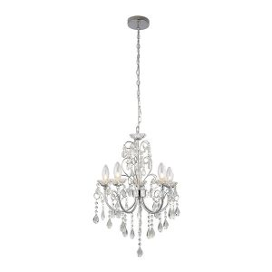 Endon Tabitha 5lt pendant IP44 18W chandelier light for sale at Lichfield Lighting