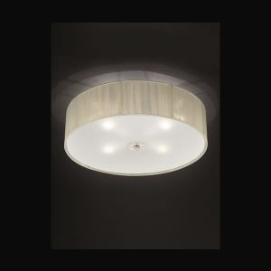 Franklite Desire 3 light Flush ceiling fitting flush ceiling light for sale at Lichfield Lighting