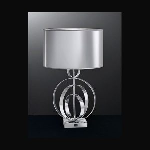 Franklite Zany Concentric Table Lamp for sale at Lichfield Lighting