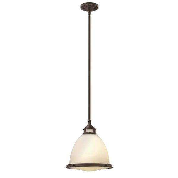Elstead Hinkley Amelia Pendant Light in Buckeye Bronze from Lichfield Lighting
