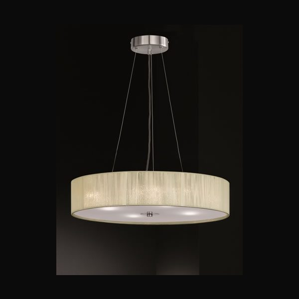 Franklite Desire 4 light Pendant light from Lichfield Lighting