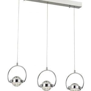 Franklite Rolla FL2380/3 Fitting Modern Modern Glass 3 light pendant for sale at Lichfield Lighting