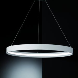 Franklite hollo PCH119 Fitting Modern ivory LED light for sale at Lichfield Lighting