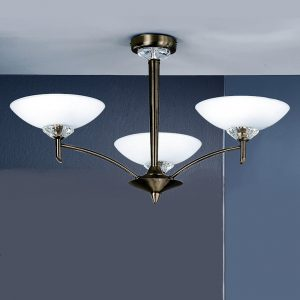 Franklite Fizz FL2010/3 Fitting bronze for sale at Lichfield Lighting