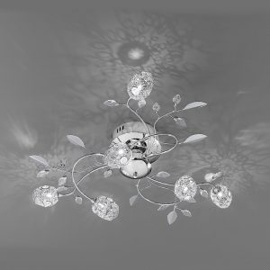 Franklite Nebula FL2210/6 Fitting Modern chrome finish sale at Lichfield Lighting