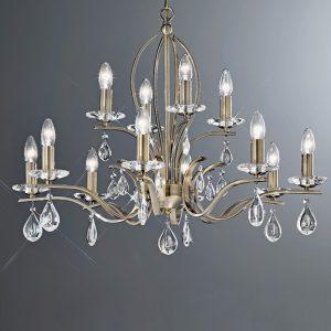 Franklite Willow 12 light Chandelier for sale online