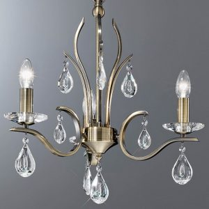 Franklite Willow 3 light Chandelier for sale online