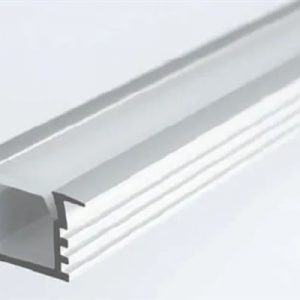 Lichfield Lighting 1M Deep Recessed Extrusion (Including diffuser and end caps)