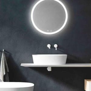 Lichfield Lighting Sudbury Tunable LED Mirror with Demister 600mmv