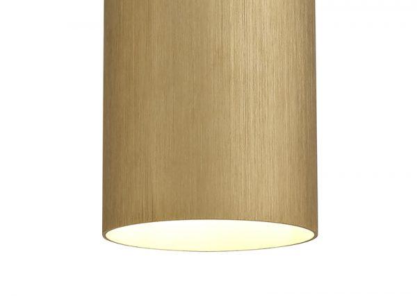 Lichfield Lighting Agincourt Single Pendant, 1 x E27, Gold/Polished Chrome photo 2