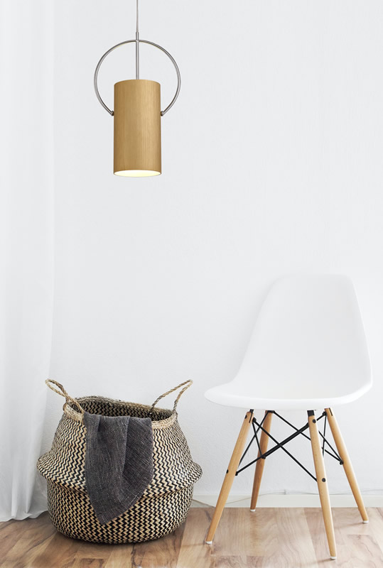 Lichfield Lighting Agincourt Single Pendant, 1 x E27, Gold/Polished Chrome photo 3