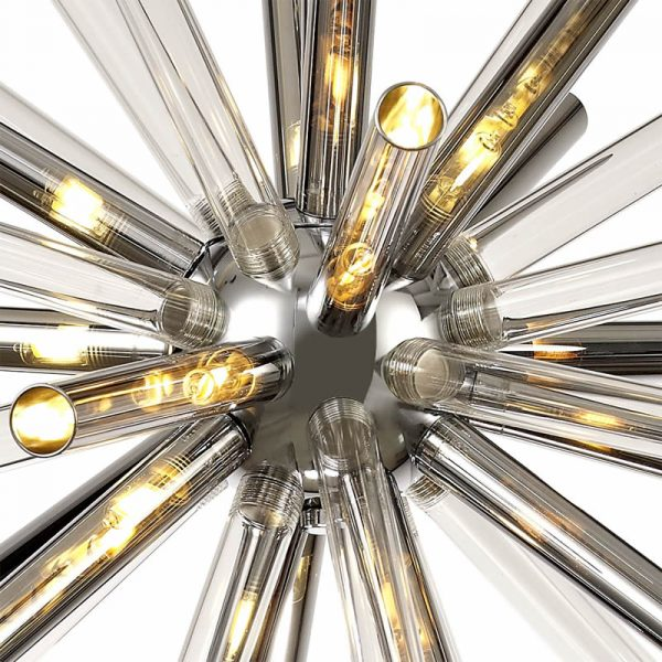 Lichfield Lighting Falkland Pendant 16 Light G9, Clear & Chrome/Polished Chrome photo 2