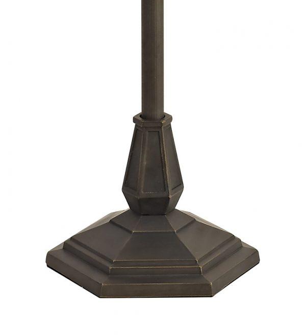 Lichfield Lighting Market Leaf Design Floor Lamp, 2 x E27, Aged Antique Brass photo 3