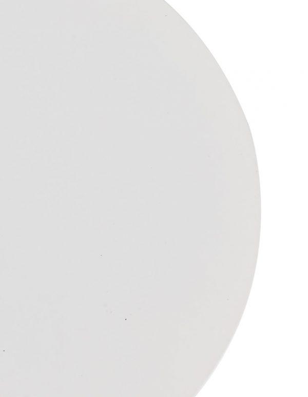 Lichfield Lighting Maxwell 200mm Non-Electric Round Plate, Sand White photo 2
