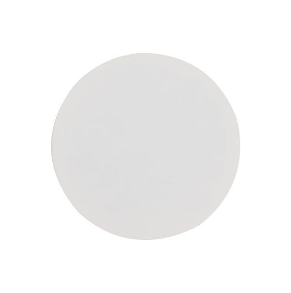 Lichfield Lighting Maxwell 200mm Non-Electric Round Plate, Sand White photo 1